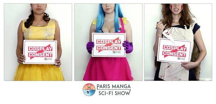 Cosplay is not Consent : à la Paris Manga, touche qu'avec les yeux !