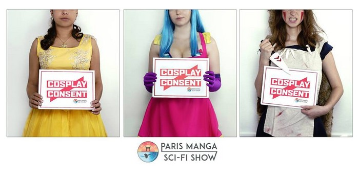 Cosplay is not Consent : à la Paris Manga, touche qu'avec les yeux !