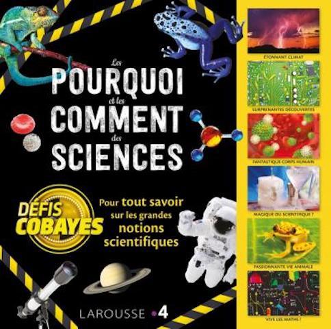 Critique Livre - Défis cobayes - la collection jeunesse qui met les sciences à l'honneur