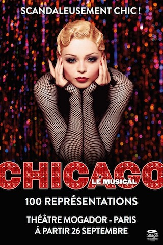 Spectacle - Chicago - le Musical scandaleusement chic venu de Broadway