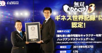 Warriors Orochi 4 entre au Guiness World Records !