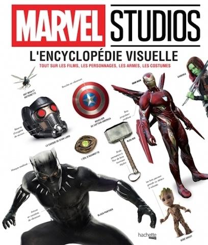Critique Livre - Marvel Studios L'encyclopédie visuelle un album héroïque