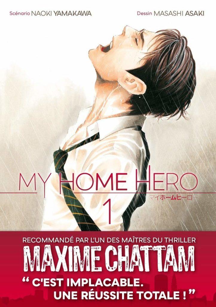 Critique Manga – My Home Hero tome 1 : crime à domicile