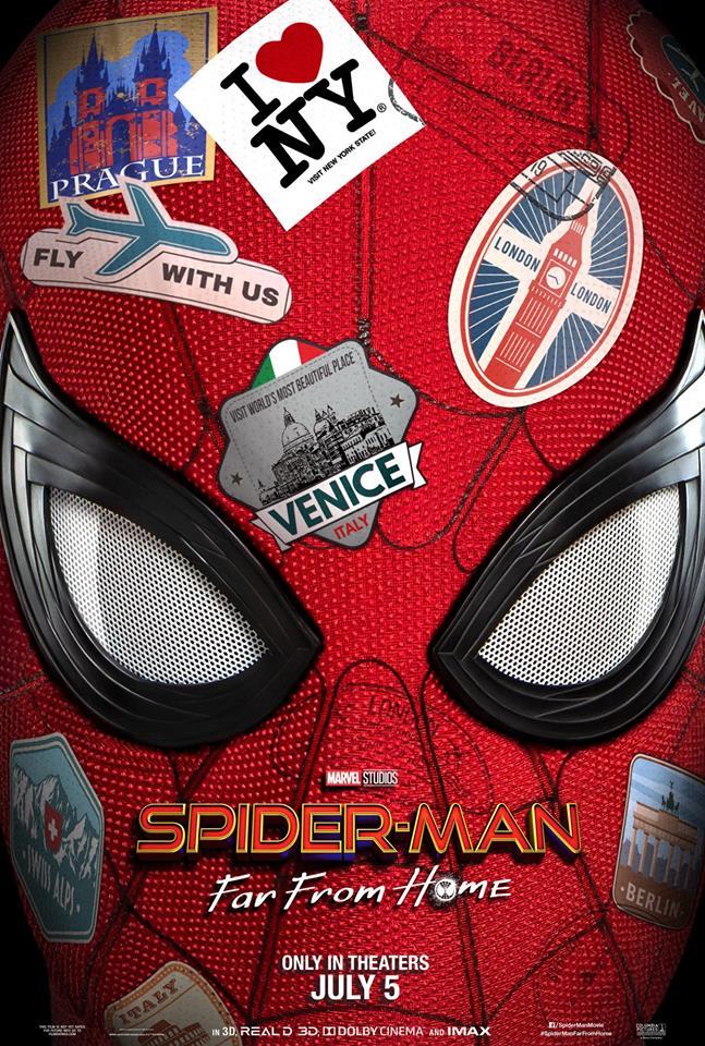 Spider-Man Far from home : la bande-annonce est arrivée !