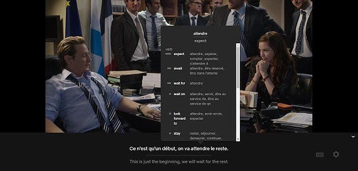 Chrome et Netflix peuvent t'aider à apprendre une langue étrangère !