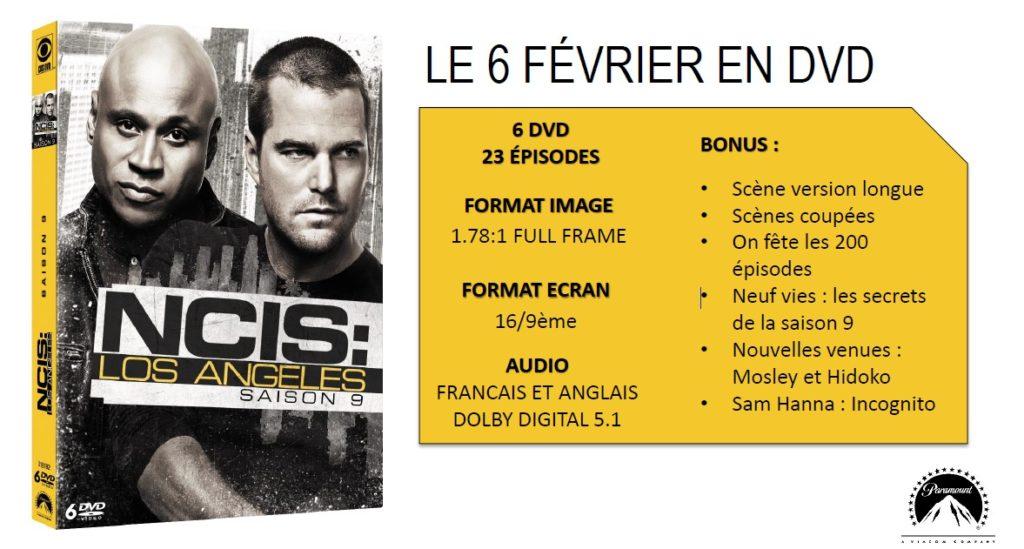 Concours NCIS Los Angeles Saison 9 (M6) 2 COFFRETS 6 DVD à gagner !