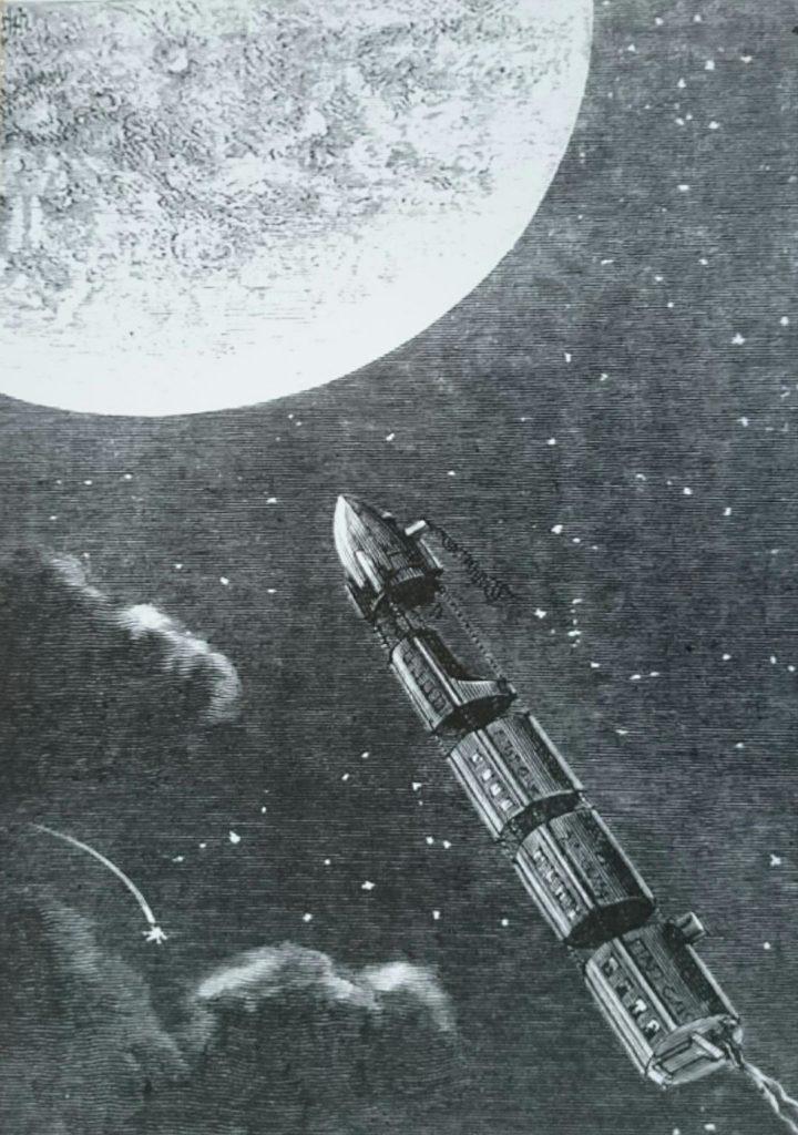 Association Valentin Haüy: les IA au service des déficientes visuelles !_image Jules Verne de la Terre à la lune_Impression 3D