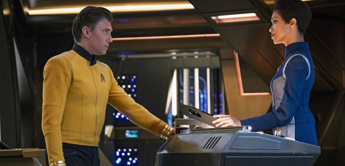 Star Trek Discovery : le capitaine Pike quitte le vaisseau !