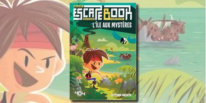 Critique Escape Book, L'Île aux Mystères_une