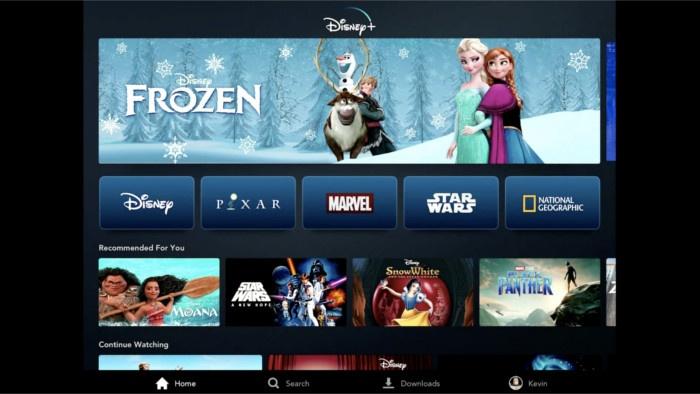 Disney + dévoile son prix et son contenu