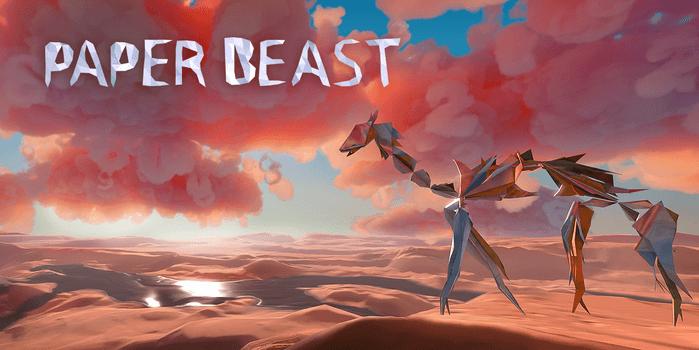 Paper Beast, le nouveau jeu d'Éric Chahi, à quoi peut-on s'attendre _PaperBeast-Banner-01