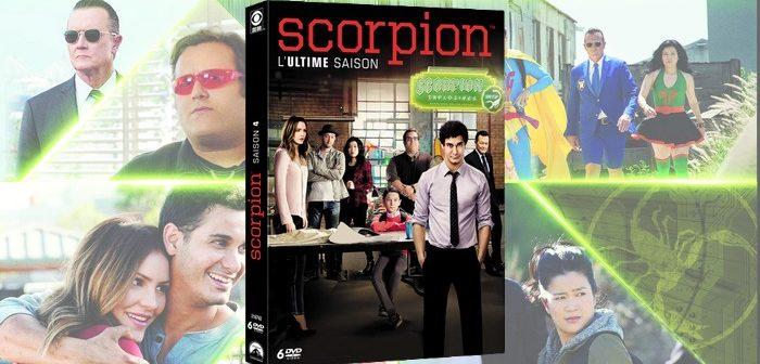 Concours - Scorpion S4 2 coffrets 6 DVD à gagner !