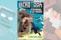 Critique Escape Book Journal d'un Noob, le Méga temple maudit_image de une