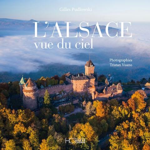 Critique Livre - L'Alsace vue du ciel un voyage planant