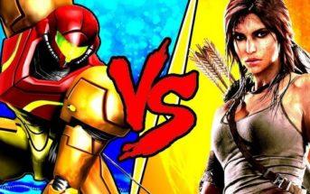 Lara Croft vs Samus Aran duel de personnages !