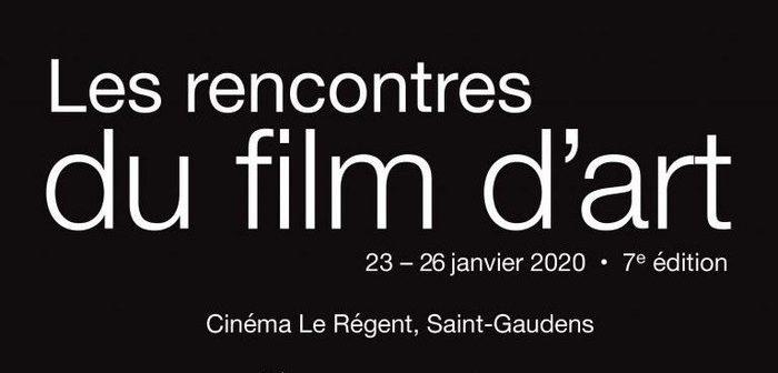 L'affiche officielle du 7e Festival du Film d'Art
