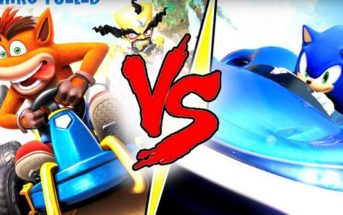 Duel Crash Team Racing VS Team Sonic Racing !