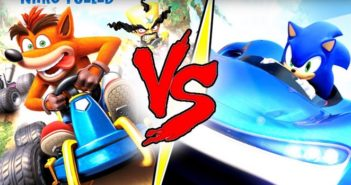 Duel Crash Team Racing VS Team Sonic Racing !