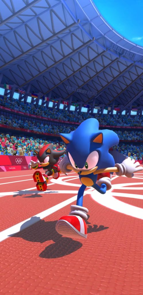Sonic at the Olympic Games – Tokyo 2020, quelques images
