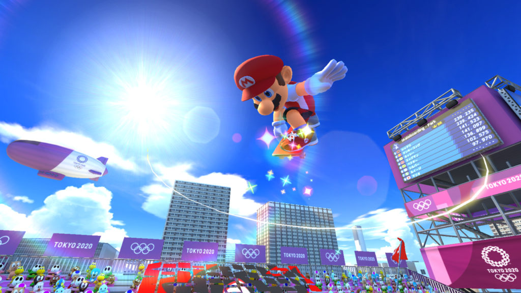 Preview Mario & Sonic at the Olympic Games spécial délégation japonaise !