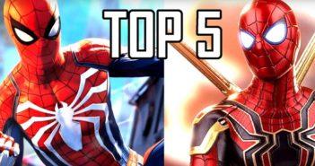 Top 5 des meilleurs jeux Spiderman !