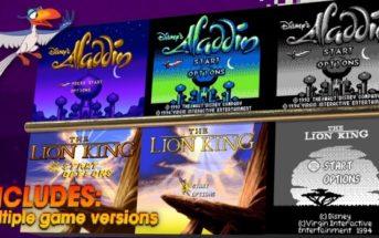 Aladdin et Le Roi Lion sont de retour en jeux vidéo !