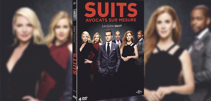Concours Suits saison 8 : 2 coffrets 4 DVD à gagner !