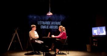 Critique spectacle – L'étrange affaire Émilie Artois : un thriller qui se joue des apparences