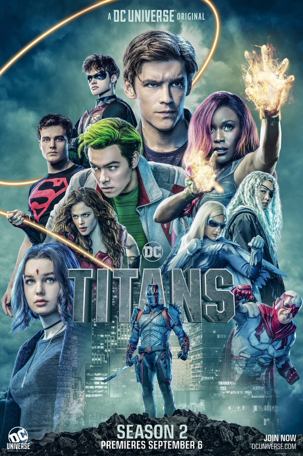 La saison 2 de Titans affiche ses protagonistes