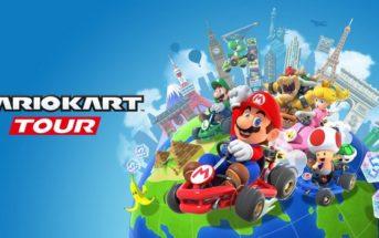 Mario Kart Tour, débarque en trombe !