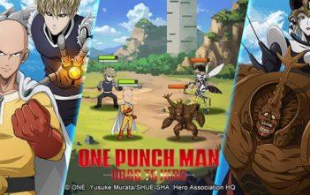 One Punch Man Road to Hero le jeu officiel est sorti !