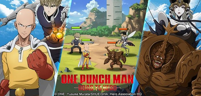 One Punch Man Road to Hero le jeu officiel est sorti !