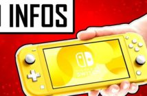 10 informations sur la Nintendo Switch Lite !