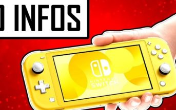 10 informations sur la Nintendo Switch Lite !