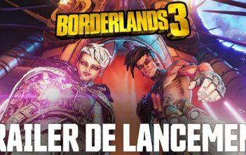 Borderlands 3 la cinématique de lancement !