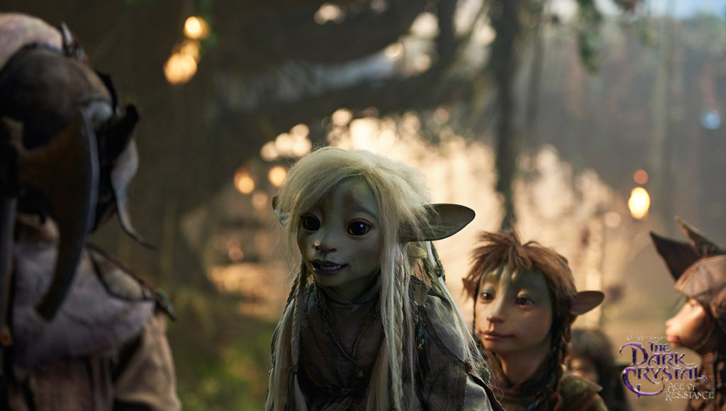 Critique Dark Crystal Le temps de la résistance brillant préquel_production_AOR_card