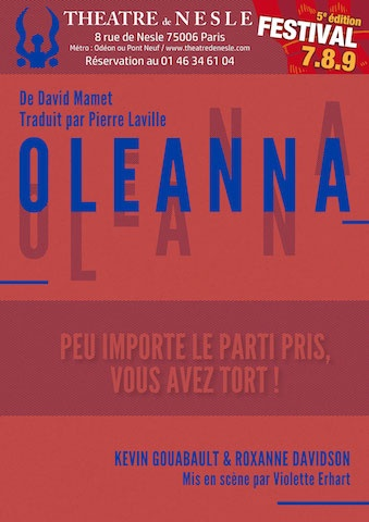 Critique spectacle – Oleanna