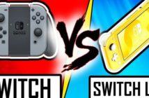 Nintendo Switch vs Nintendo Switch Lite le duel !