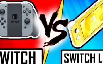 Nintendo Switch vs Nintendo Switch Lite le duel !
