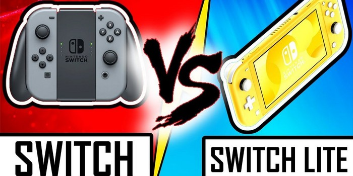 Nintendo Switch vs Nintendo Switch Lite : le duel de consoles !