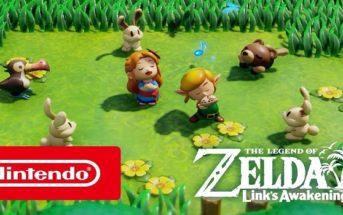 Une nouvelle vidéo pour Link's Awakening