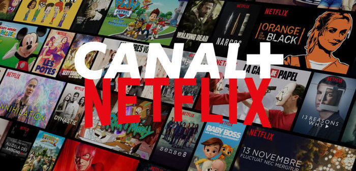 Canal + et Netflix s'allient pour proposer une offre groupée en France