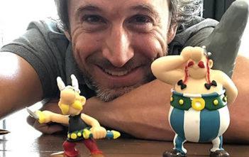 Astérix et Obélix s'affichent devant la caméra de Guillaume Canet