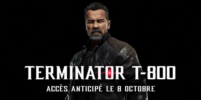 Le Terminator T-800 s'invite dans Mortal Kombat 11 !