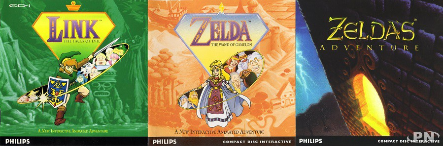 ZELDA PHILIPS CDI : La Triforce de la Honte