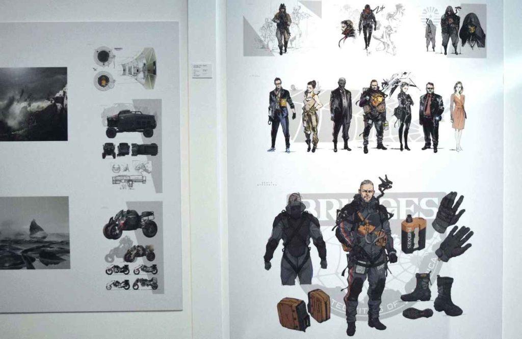 Design moi un jeu vidéo, l'expo_Death Stranding Concept Art