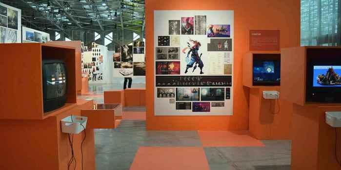 Design moi un jeu vidéo, l'expo