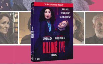 Concours Killing Eve Saison 2 : 2 DVD à gagner
