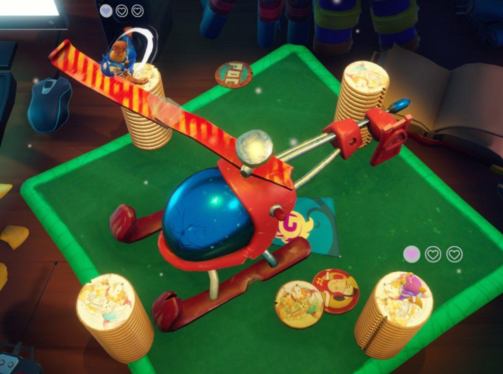 Preview Skelittle : A Giant Party!! le party game de ta boîte de céréales !_ saut hélicoptère