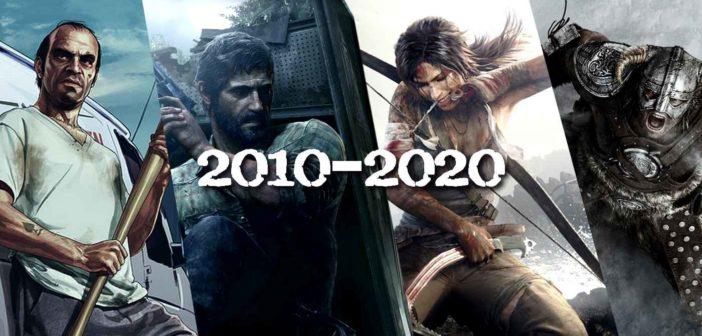 2010 - 2020 : nos meilleurs jeux vidéo de la décennie !